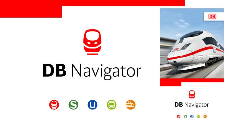 """""""DB Navigator""""-App (Bild: App DB/Collage)"""