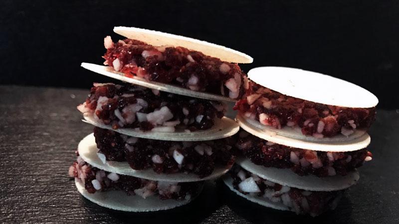 Cranberry-Kokos-Fruchtschnitten