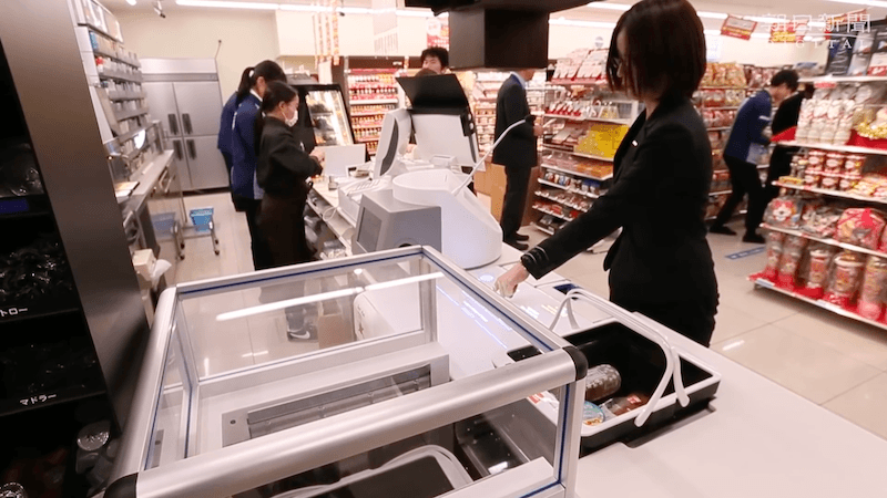 RejiRobo Amazon Go Lawson