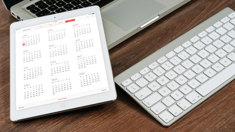 Sidepreneure Arbeiten Macbook Mac Kalender