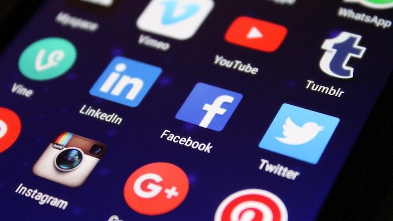 Social Media Apps Zwei-Faktor-Authentifizierung
