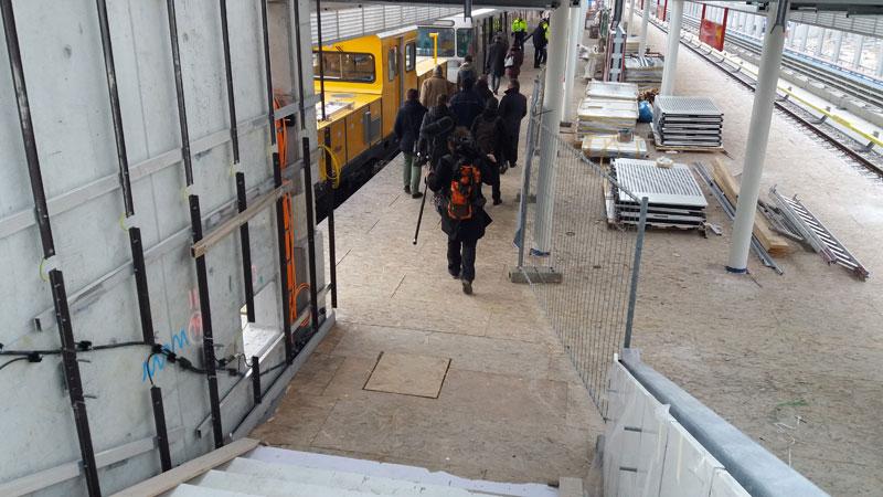 Wien, U1-Station Oberlaa