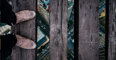 Angst Digital Höhenangst