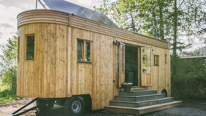 Wohnwagon, Tiny House, autark
