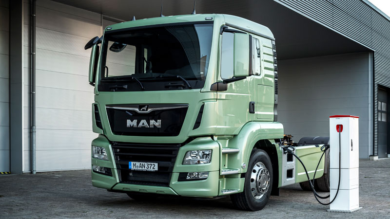 MAN E-Truck (Bild: MAN)