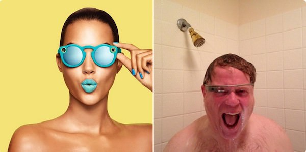 Snapchat Google Glass Spectacles