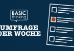 Umfrage, BASIC thinking