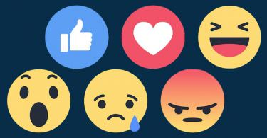 Facebook Emotions Like Love Haha Traurig Wütend Wow