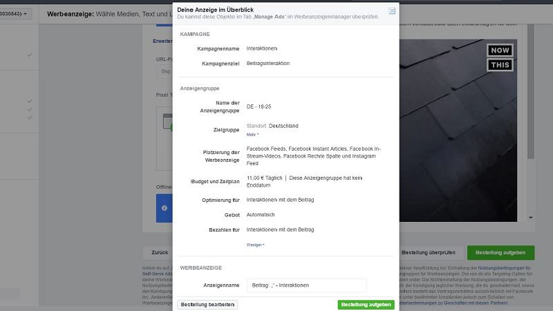 Facebook, Facebook-Werbung, Facebook-Anzeige, Social Media, Social-Media-Werbung