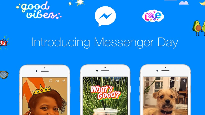 Facebook, Facebook Messenger, Messenger Day
