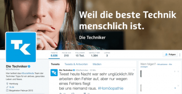 techniker twitter homöopathie