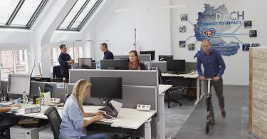 LinkedIn, München, Büro, Karrierenetzwerk