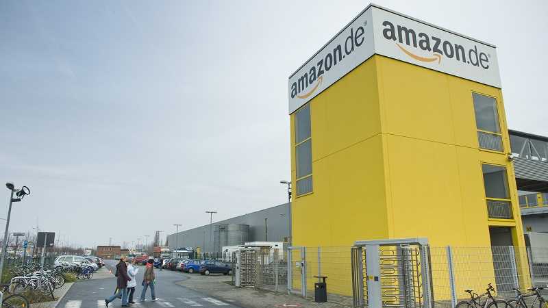 Amazon, Logistikzentrum, Leipzig, Influencer, Amazon Anytime