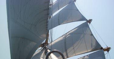 Segel, Segelschiff, Pionier