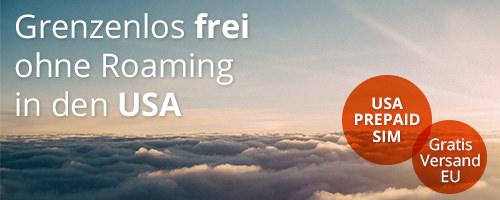 Tourisim SIM Karten USA