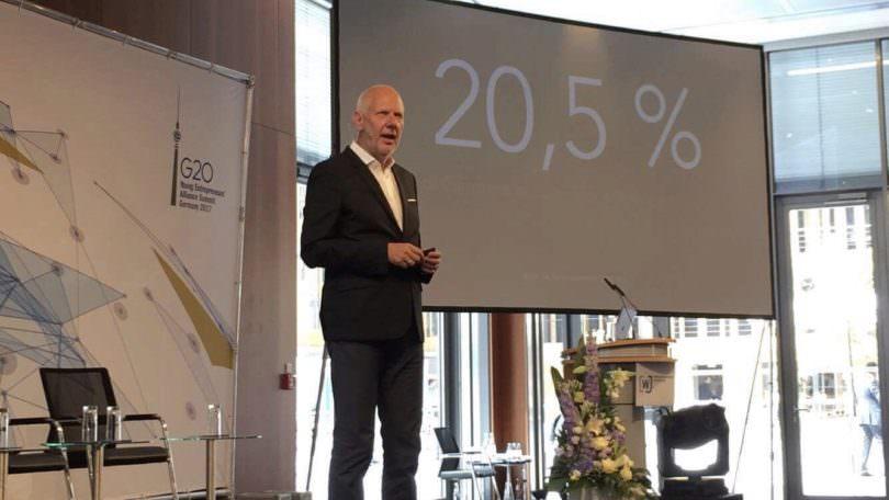 Matthias Horx, G20 Jungunternehmergipfel, Berlin, Digitalisierung
