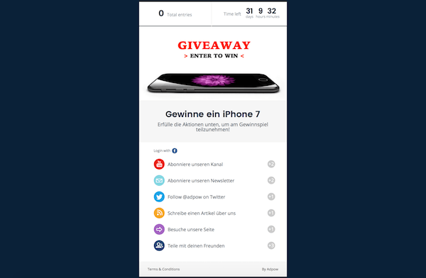 Adpow Modul Giveaway