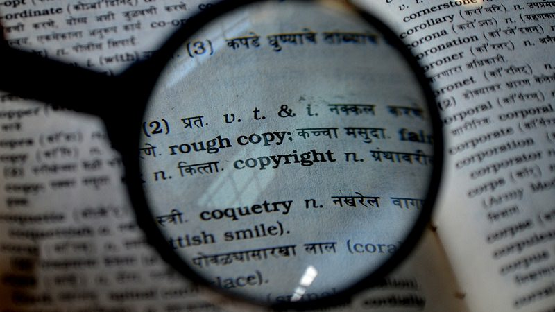 Lupe, Copyright, Urheberrecht