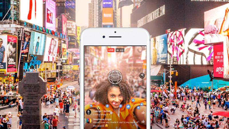 Facebook, Livestreaming, 360-Grad-Livevideos