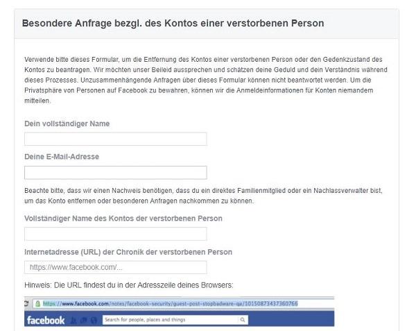 Gewusst wie: So wappnest du dein Facebook-Konto für den Tod