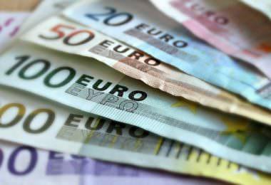 Geld, Geldschein, Geldnote, Banknote, Bank, Suchmaschinenwerbung für Banken