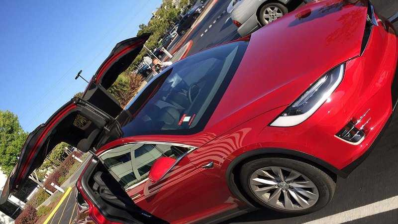 Tesla, Model X, autonom, autonomes Auto