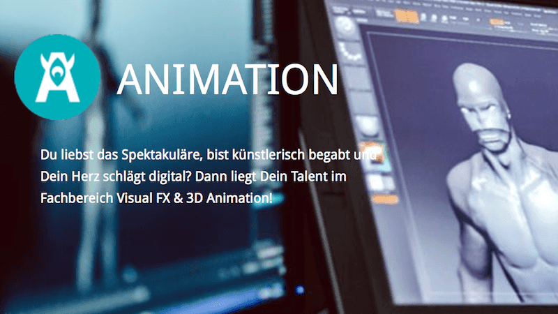 Visual Effects 3D Animation SAE-Institut