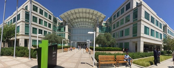 Apple, Apple Campus, Apple Park, Cupertino, Apple-Rundgang