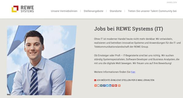REWE Systems GmbH – Übersicht