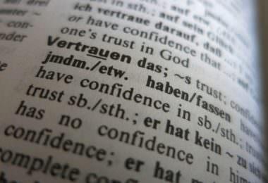 Vertrauen, Trust