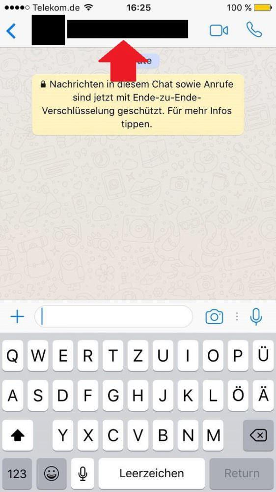 WhatsApp, Messenger, WhatsApp-Kontakte blockieren