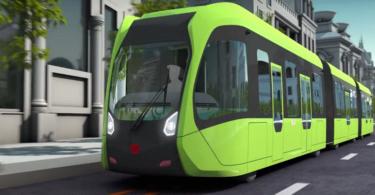 ART autonomer Zug Bus China Zhuzhou