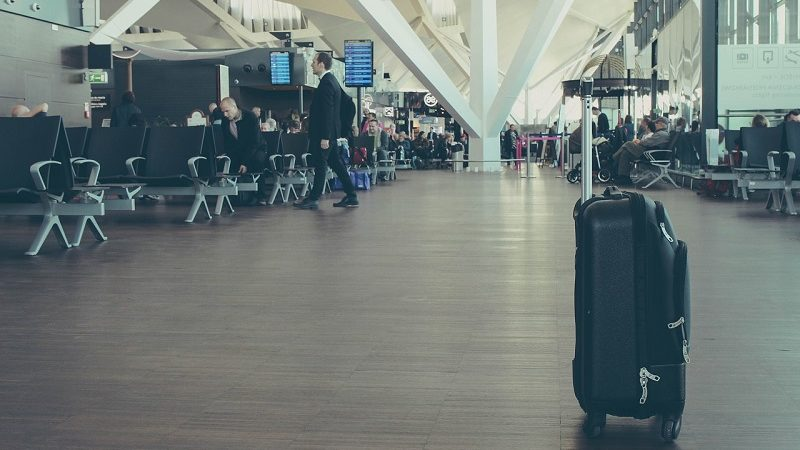 Flughafen Koffer Terminal