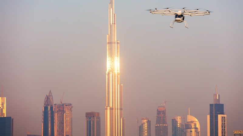Volocopter in Dubai