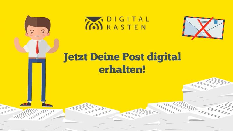 Digitalkasten Post Digitalisieren