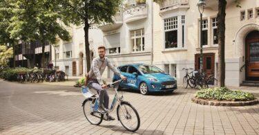 FordPass Bike Call a Bike