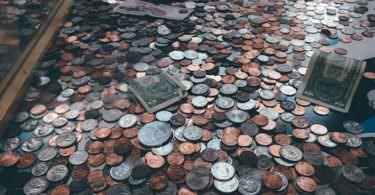 Münzen, Geld, Spende, Spenden, spenden