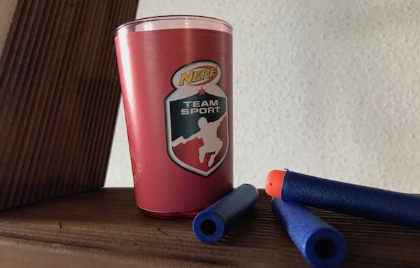 Nerf Teamsport Becher DIY