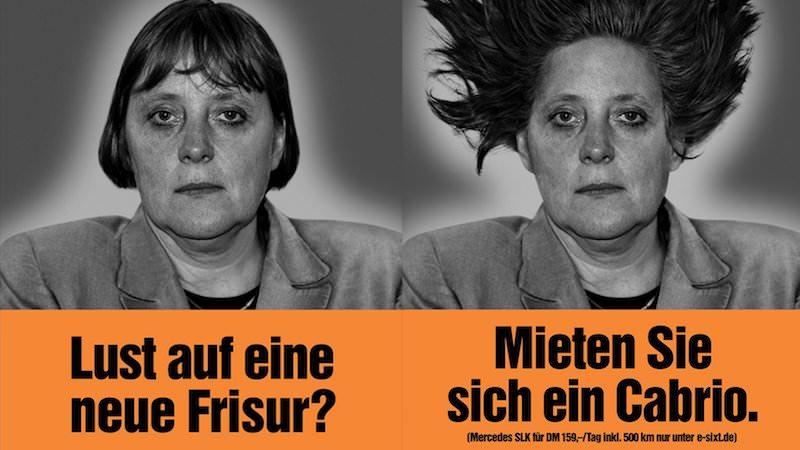 Sixt Merkel Kampagne