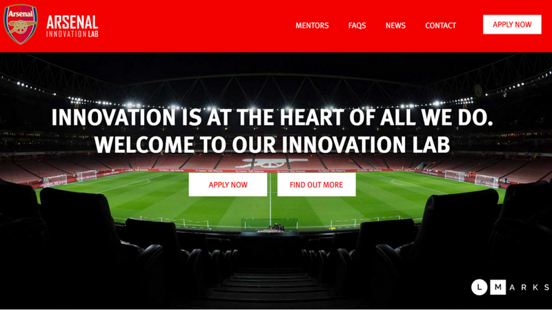 Arsenal London startet Arsenal Innovation Lab