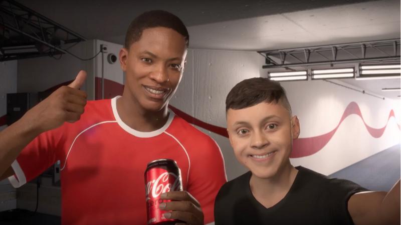 FIFA 18: Alex Hunter wirbt für Coca-Cola