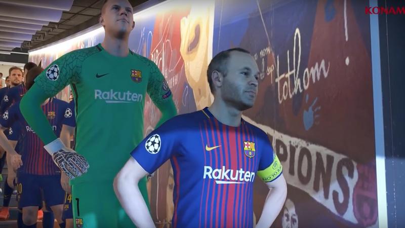 Konami & die UEFA gehen auf Pro Evolution Soccer League World Tour