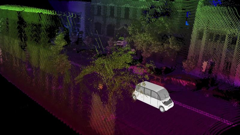May Mobility Autonome Shuttles Detroit