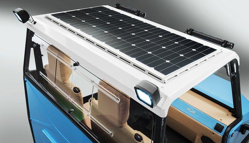 aCar TU München Solarzellen