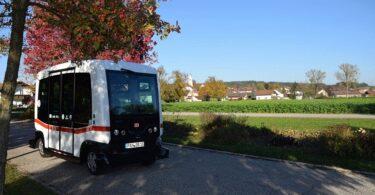 autonomer Bus Deutsche Bahn