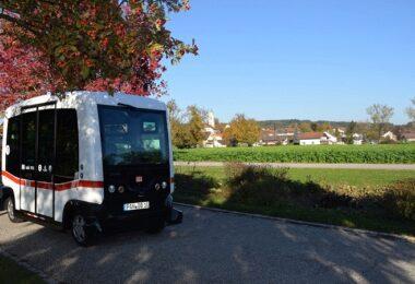 autonomer Bus, Deutsche Bahn, selbstfahrendes Auto, DB