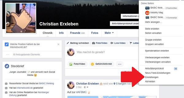 Facebook, Datenschutz, Facebook-Daten