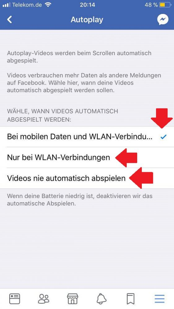 Facebook, Autoplay, Video, Videos