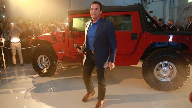 Hummer 4 Arnold Schwarzenegger Kreisel Electric
