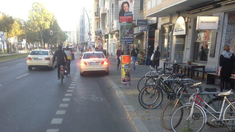 Warschauer Straße Berlin Radwege